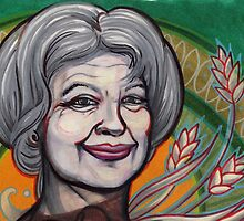 portrait of Jill Stein. by resonanteye
