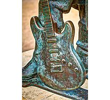 Stevie Ray Vaughan Photographic Print