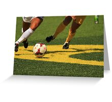 Plays on the Ball Greeting Card