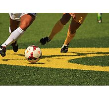 Plays on the Ball Photographic Print