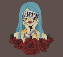 Think Happy Thoughts by gore-font