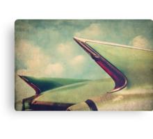 Cadillac Coupe DeVille Fintails Canvas Print