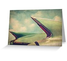 Cadillac Coupe DeVille Fintails Greeting Card
