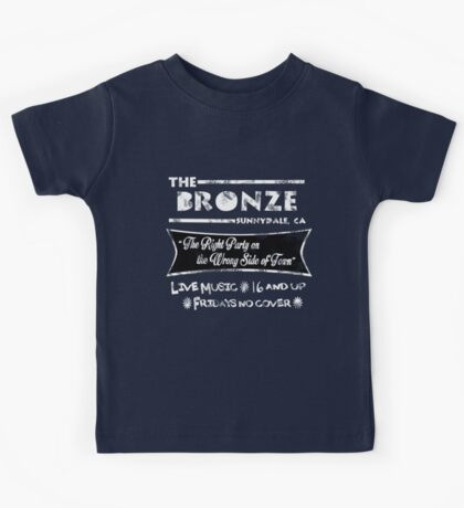 The Bronze Vintage Dark Kids Tee