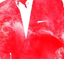 red darren Sticker