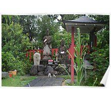 Buddha Garden Poster