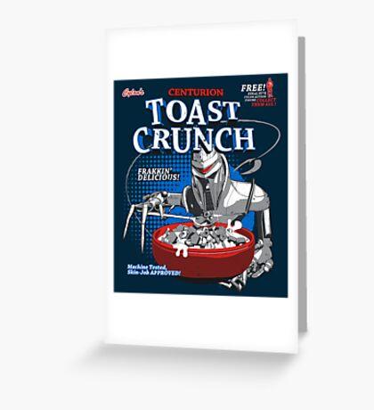 Centurion Toast Crunch Greeting Card