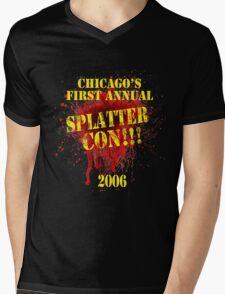 Splatter Con!!! Mens V-Neck T-Shirt