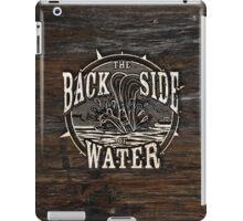 Back Side of Water (White) iPad Case/Skin
