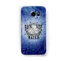 Back Side of Water (Black) Samsung Galaxy Case/Skin