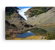Glaciers and tarns Canvas Print