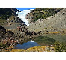 Glaciers and tarns Photographic Print