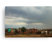 Township Life in South Africa Canvas Print