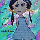 Odd Girl (with text) by Alison Pearce