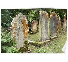 gravestones Poster