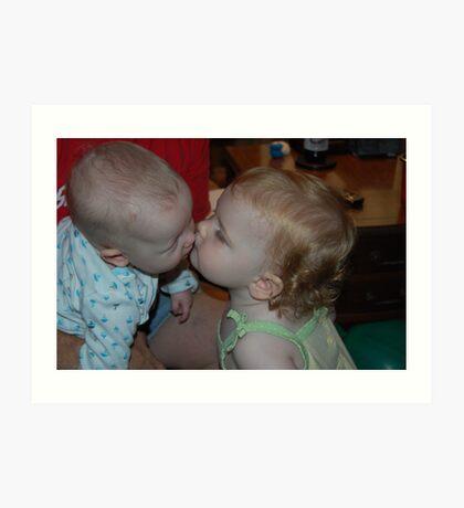 Kissin' Cousins..... Art Print