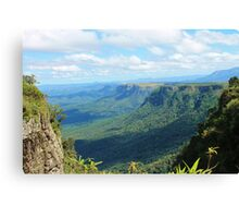 Green Canyon in South Africa Canvas Print