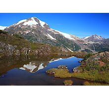 Glaciers and tarns II Photographic Print