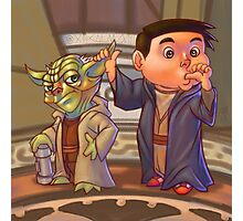 Two of a Kind...Jedi! (Digital illustration) Photographic Print
