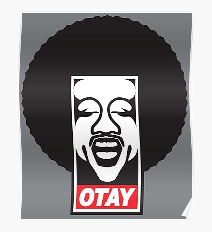 OBEY OTAY Poster