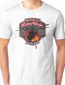 RotorWash Brewing Co. - Lean'n Lager Skycrane Unisex T-Shirt
