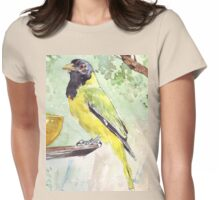 Black-headed Oriole Womens Fitted T-Shirt