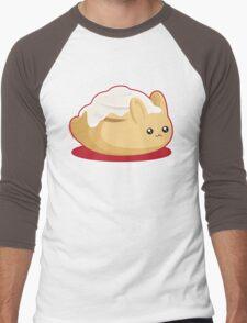 Cinnamon Bun Men's Baseball ¾ T-Shirt