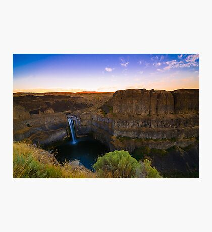 Palouse Falls, Washington Photographic Print