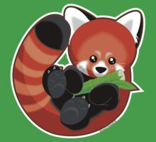 Cute Red Panda One Piece - Short Sleeve