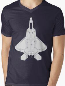 Lockheed Martin F-22 Raptor Mens V-Neck T-Shirt