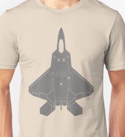 Lockheed Martin F-22 Raptor Unisex T-Shirt