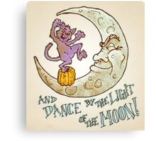 Dance by the Light of the Moon Canvas Print