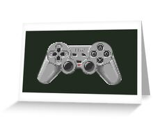 Console Gamepad Pixel Art Greeting Card