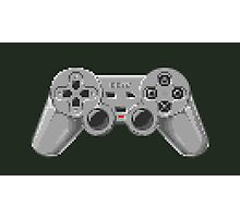 Console Gamepad Pixel Art Photographic Print