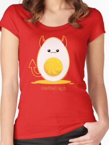 Deviled Egg Women's Fitted Scoop T-Shirt