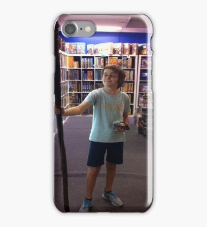 JEOL THE GRAPEST iPhone Case/Skin