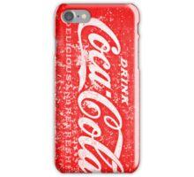 Cola Drinker iPhone Case/Skin