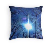 Trees & Sky- Ithaca, NY  Throw Pillow