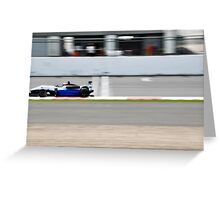 GP2 The Future of Formula One Greeting Card