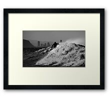 Last Surf Of The Day - Timeless Framed Print