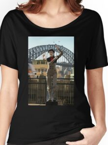 Sydney's Statue Of Liberty? Australia 2010 Women's Relaxed Fit T-Shirt