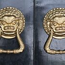Chinese Doorknob by joggi2002