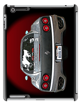Ferrari 360 Modena in Silver rear view by Samuel Sheats