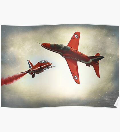 """""""Red Arrows"""" Poster"""