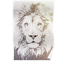 The Intellectual Lion Poster