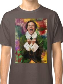 Elf - SANTA'S COMING! Classic T-Shirt
