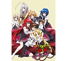 Highschool DxD Born Poster Photographic Print
