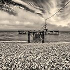 Old Jetty - Isle of Wight by Alan Robert Cooke