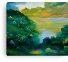 September Woods Canvas Print