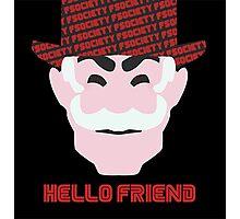 Fsociety (Hello Friend) Photographic Print
